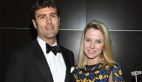 Marissa Mayer and Zachary Bogue