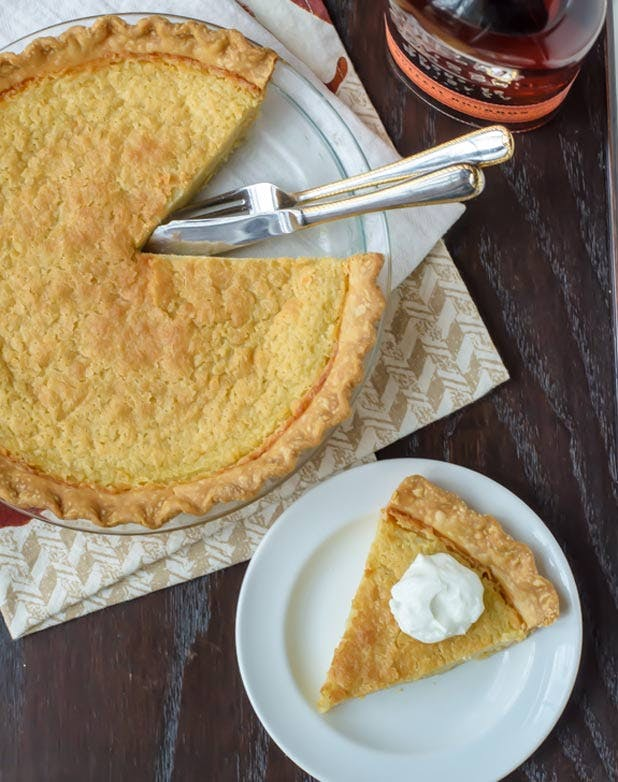 boozy desserts bourbon pie