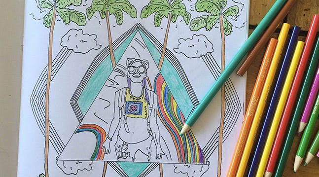 Ahhh! You Can Now Turn Your Own Photos into Coloring Books