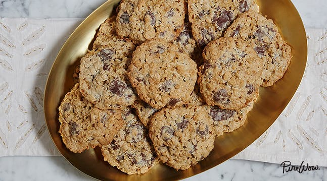 Flourless Oatmeal Chocolate-Chip Cookies