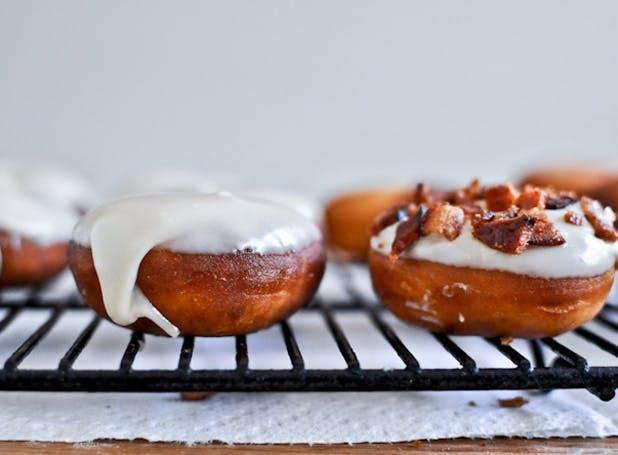 doughnuts bacon