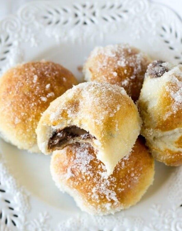 doughnuts nutellapretzel