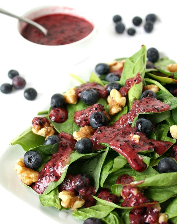 dressing blueberrybasil