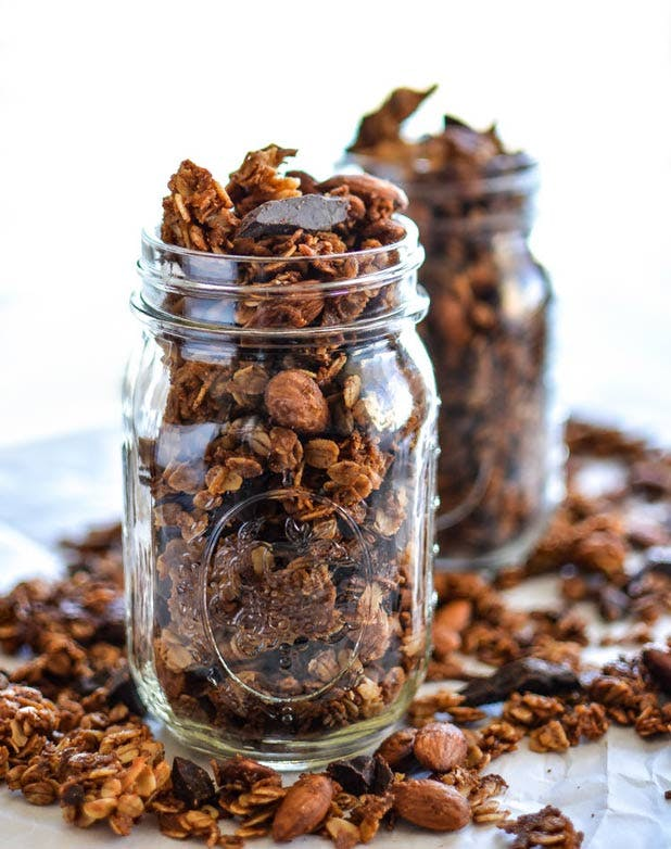 energy snacks granola