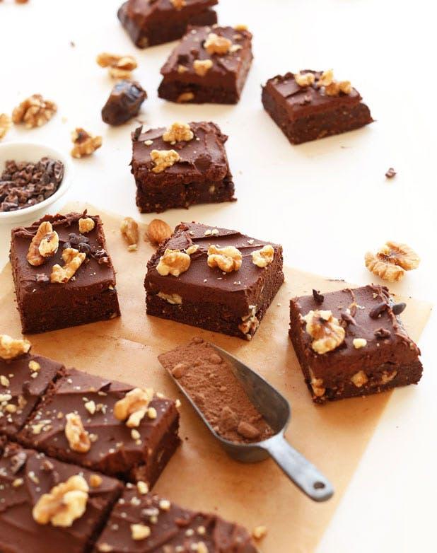minimalist brownies