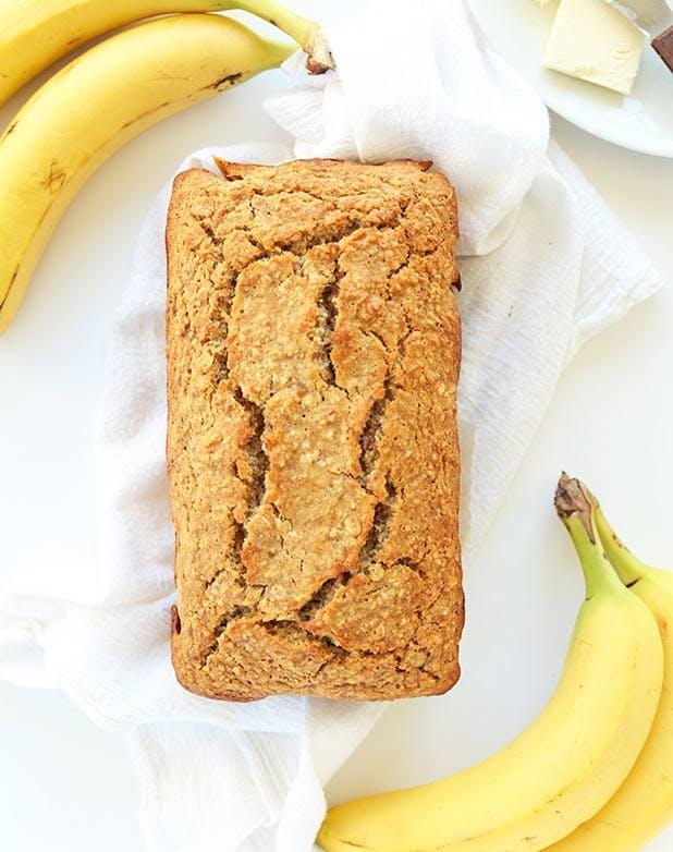 oats bananabread