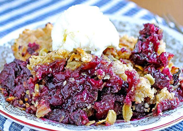 oats blueberrycrisp
