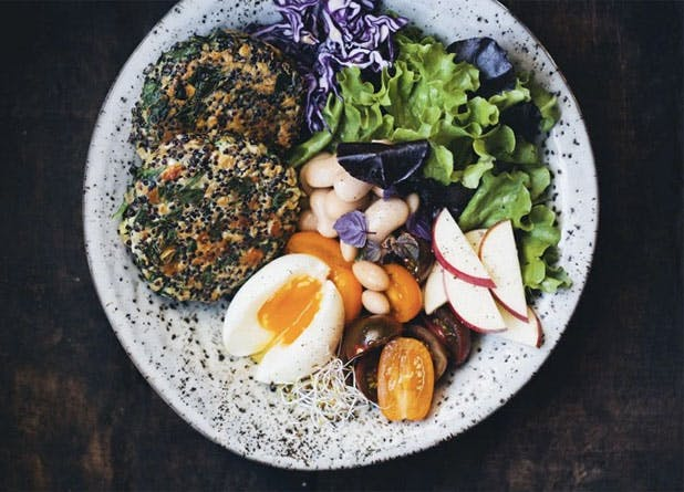 oats spinachquinoa
