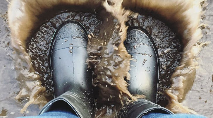 An Awesome Way to Clean Your Disgusting Rain Boots