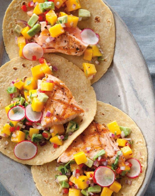 salmon tacos list