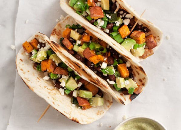 sweet potato tacos list