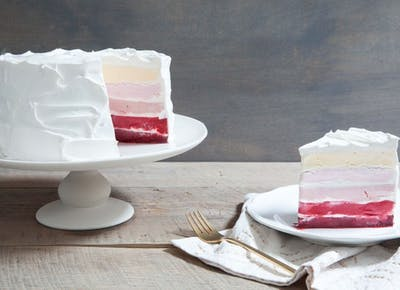A Pretty Genius Trick for Slicing an Ice-Cream Cake
