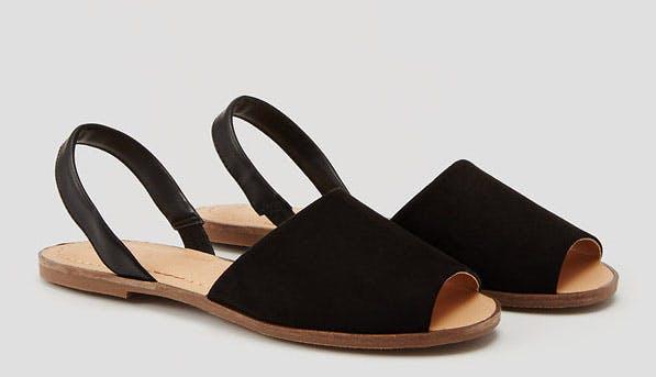 wide strap slingback