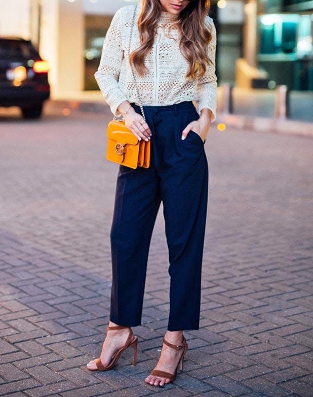 HiWaist Trousers Blouse 618x782
