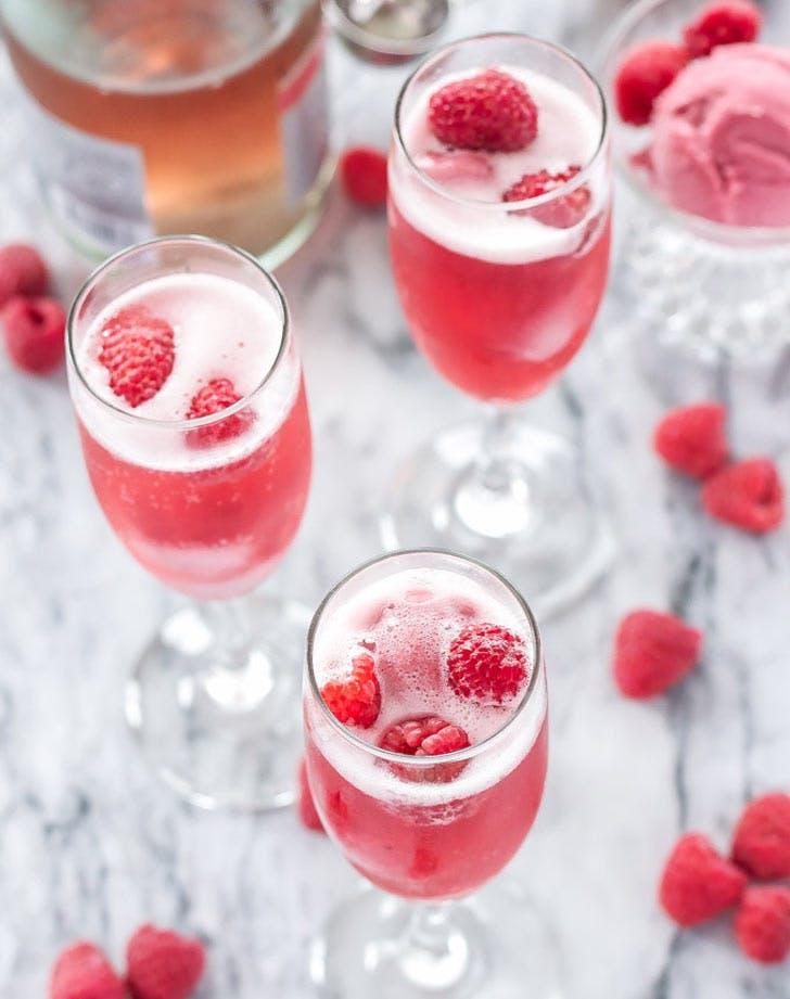 cocktails raspberrybellini