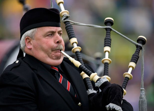 degrees bagpipe