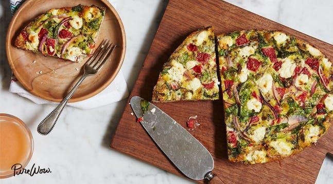 Slow-Cooker Mediterranean Frittata