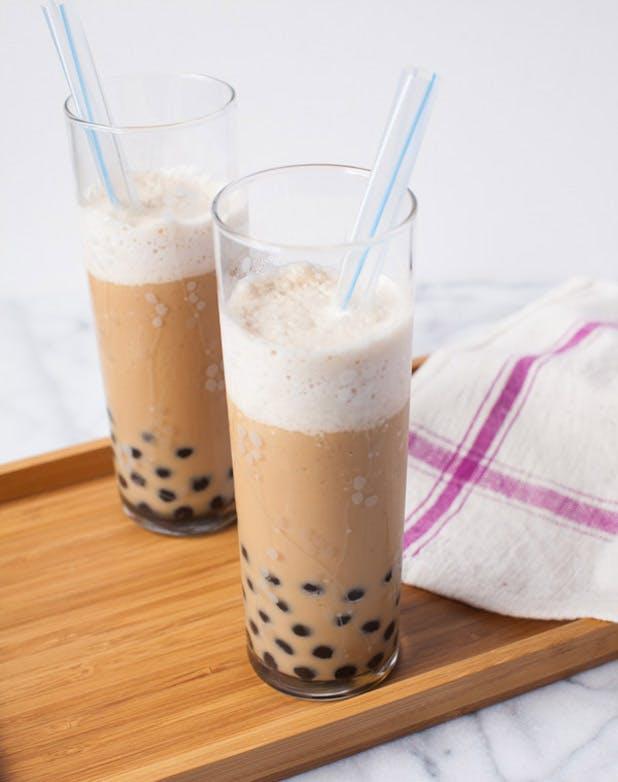iced coffee boba