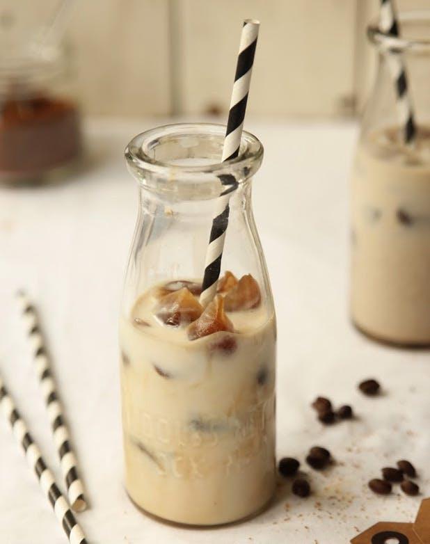 iced coffee cinnamon