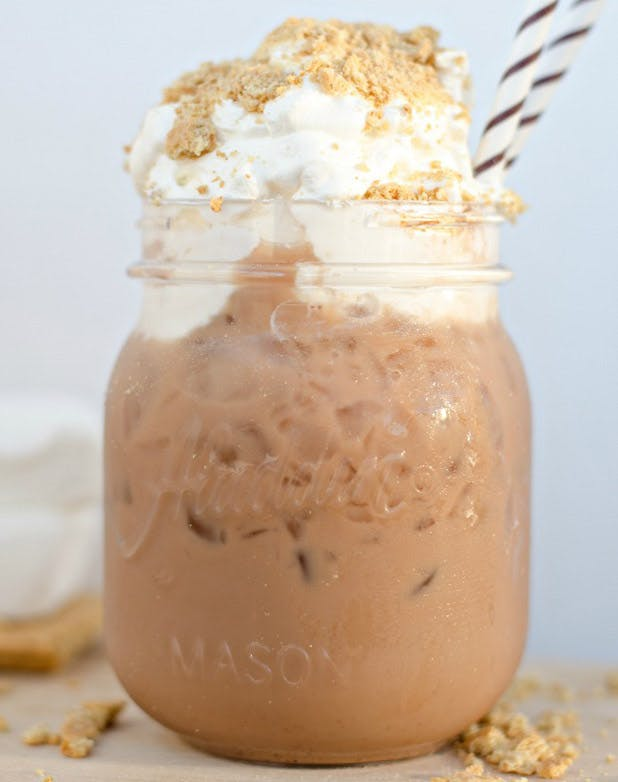 iced coffee smores