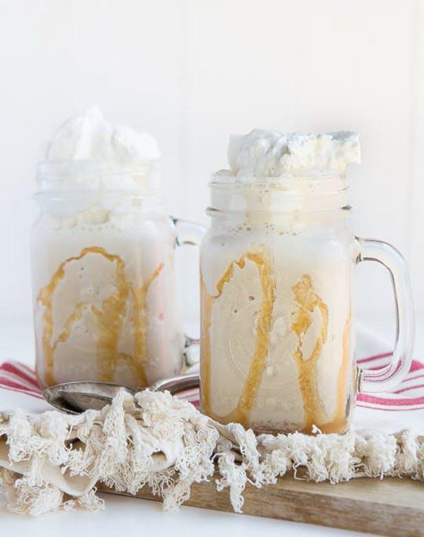 iced coffee vanilla frappe