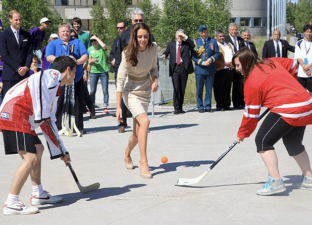 Kate Middleton Playing Sports In Heels Purewow