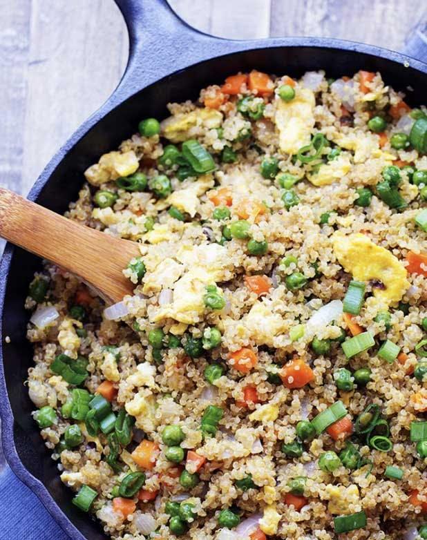 rice quinoa