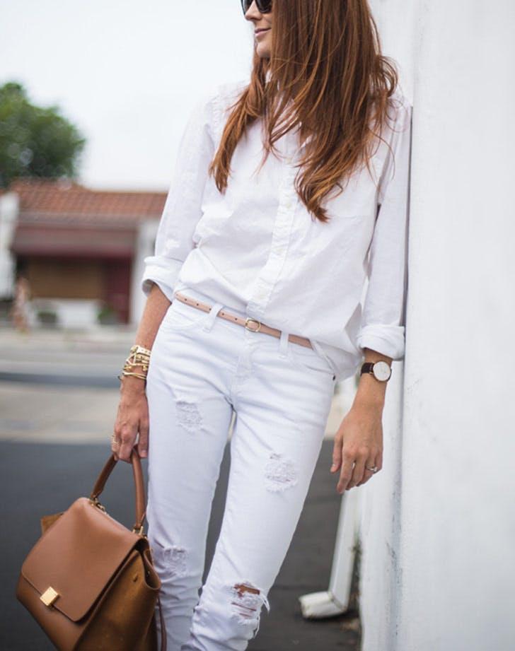style whitebuttondown