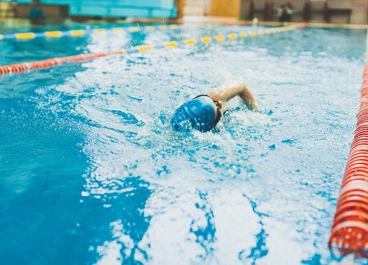 40 swimming