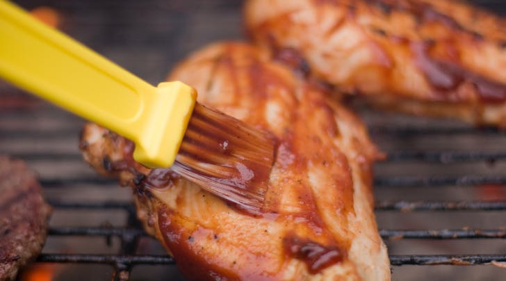 How to Baste Food Without a Basting Brush