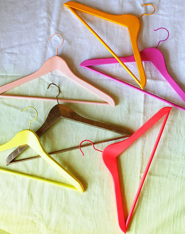colored hangers list