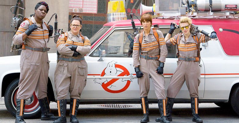 Ooh! Your Next Lyft Ride Could Be in a Ghostbusters Ecto-1