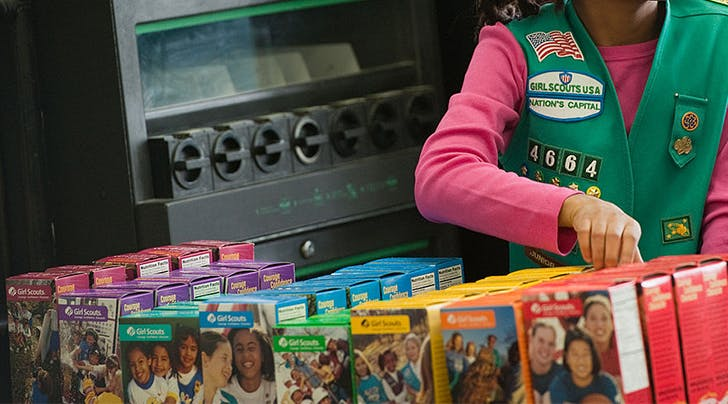 PSA: Girl Scout Cookie Baking Mixes Are Now a Thing