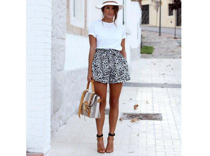 8 Super-Chic Ways to Dress Up a White Tee