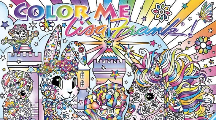 This Lisa Frank Adult Coloring Book Will Make All Your 90s Dreams Come True