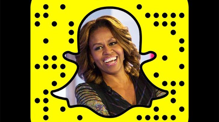 Heads Up: You Can Now Follow Michelle Obama On Snapchat