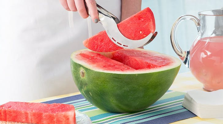 This Genius Gadget Slices Watermelon Mess-Free