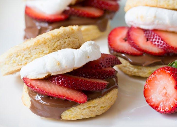 smores shortcake