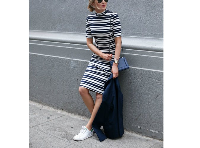 sneakers striped