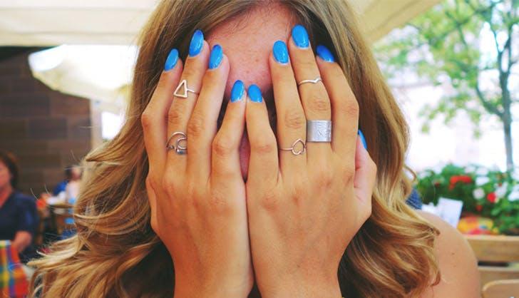 blue nails list