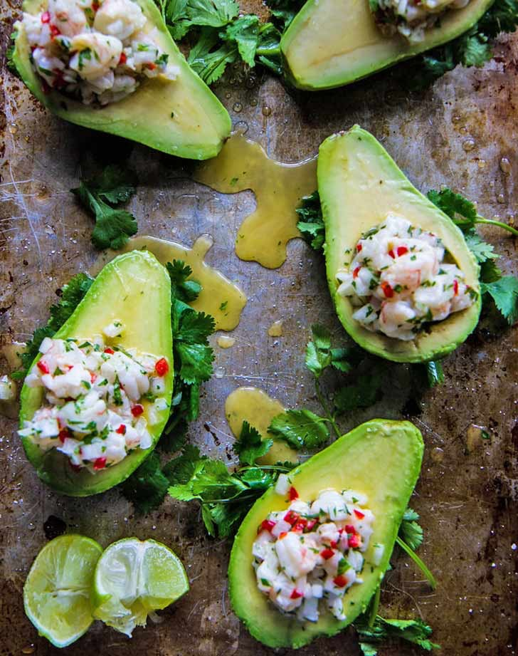 cold shrimpceviche & 24 Cold Dinner Recipes for Hot Nights - PureWow