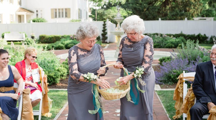 These Awesome Grandmas Make the Cutest Flower Girls Weve Ever Seen