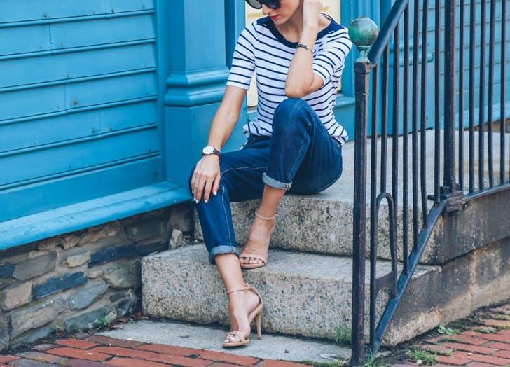 jeans prosecco