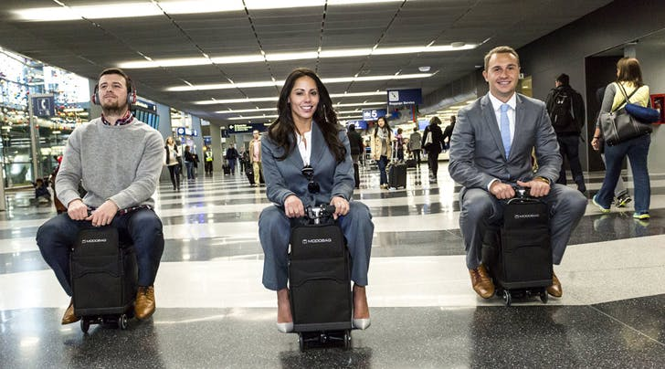 This Riding Suitcase Is Totally Bizarre and Maybe Genius