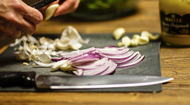 Finally, the Tear-Free Secret to Chopping Onions