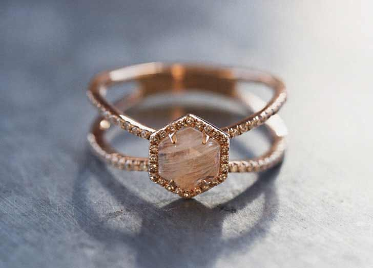 free rings conflict ring milgrain diamond media aquamarine non band wedding leaf engagement rose gold