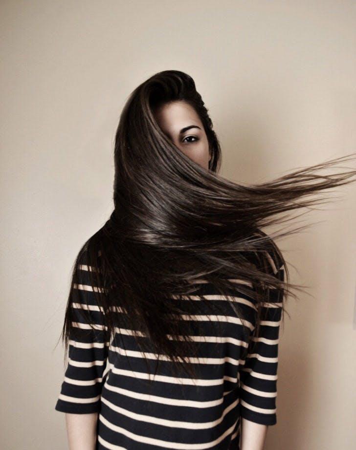 shiny hair list