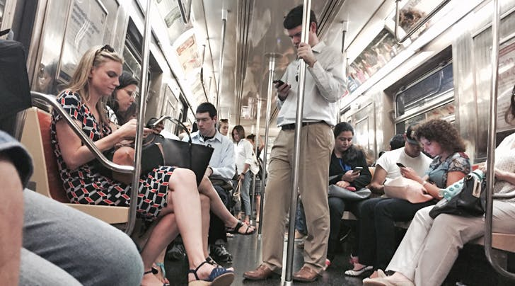The Germiest Place on the Subway Isnt What You Think