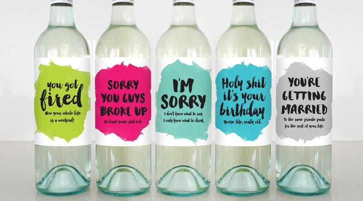 These Hilarious Wine Labels Say Exactly What Were Thinking