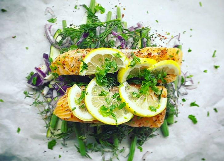 NY chefshome salmon